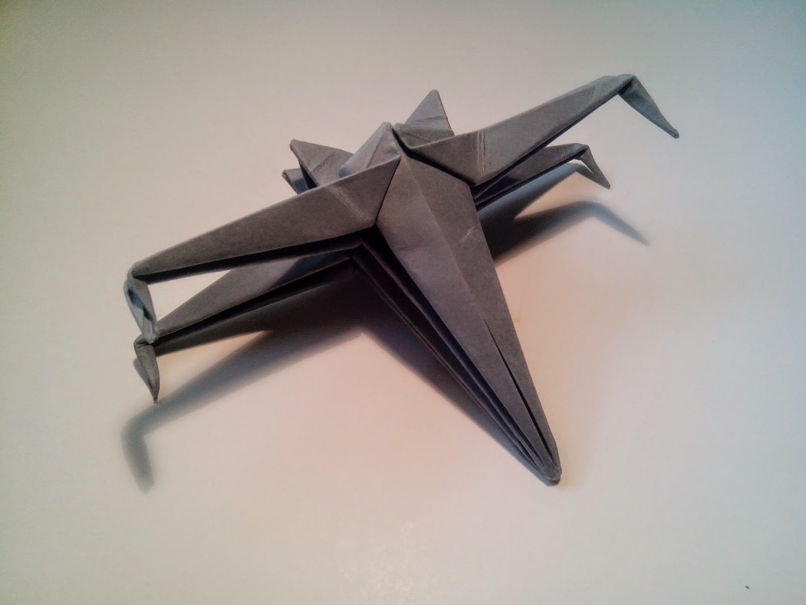 Paper crafts origami for kids october 2014 origami x wing easy jeuxipadfo Gallery