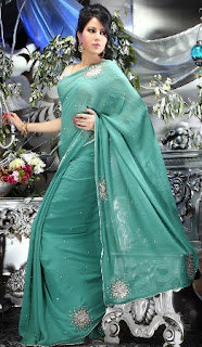 Light-Green-Indian-Saree