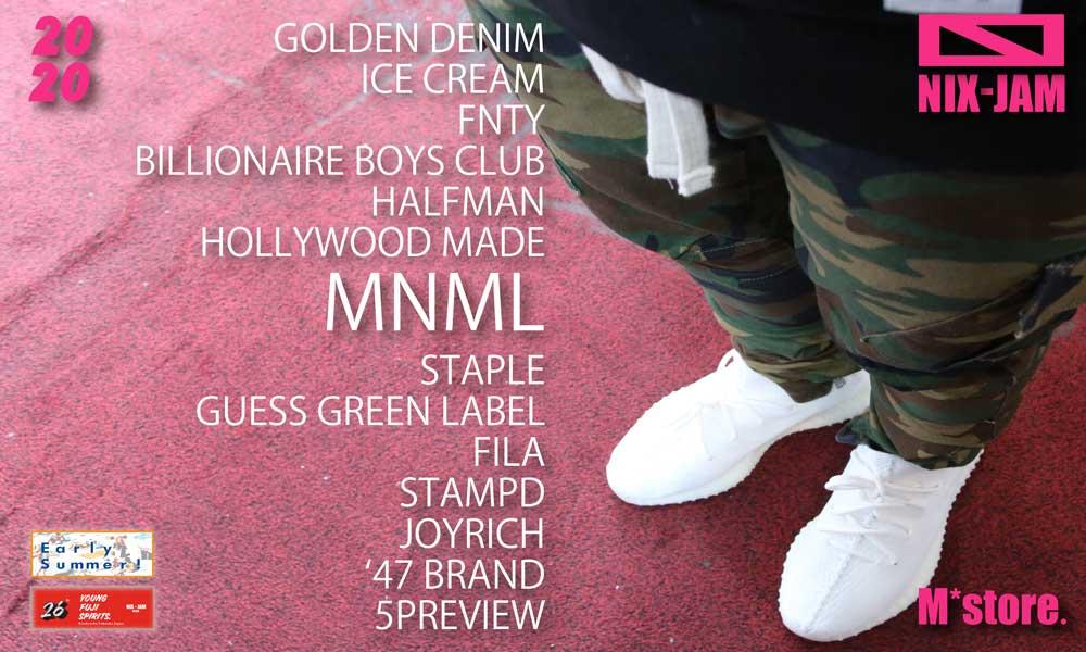 NIX-JAM M*store. blog