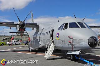 Avión de transporte Casa C-295 FAC1285 de la Fuerza Aérea Colombiana