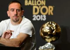 Ribery at Ballon d'Or
