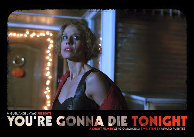Teaser trailer de 'You're gonna die tonight', nuevo corto de terror de Sergio Morcillo