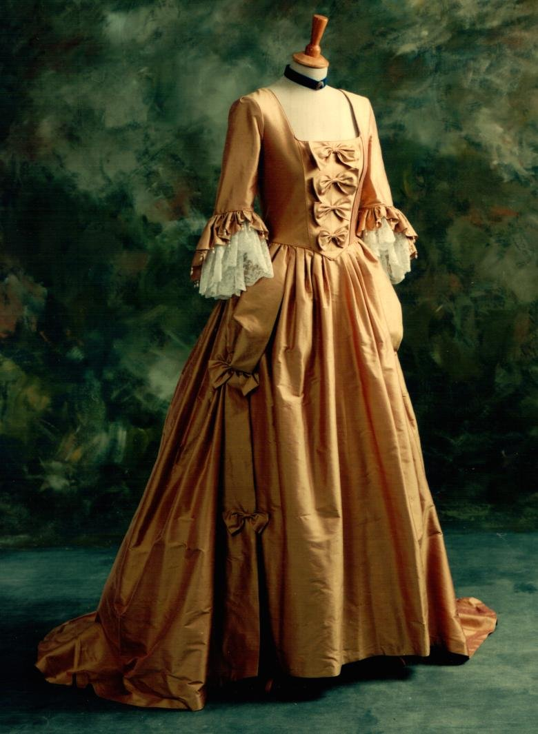A trip to 18th century fashion trends photography in a blog for 19th century wedding dresses