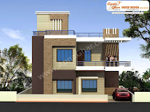 Modern Beautiful Duplex House Design In 920 Square Feet