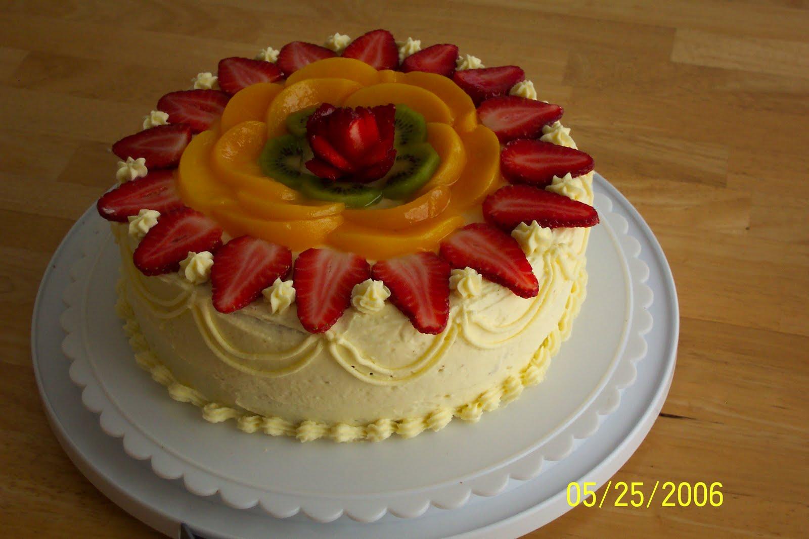 chinese sponge cake baked