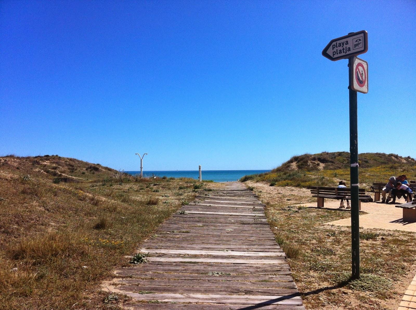 """Valencia-Playa de """"El Saler"""""""