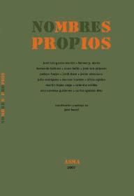 Nombres Propios. Antología de poesía asturiana