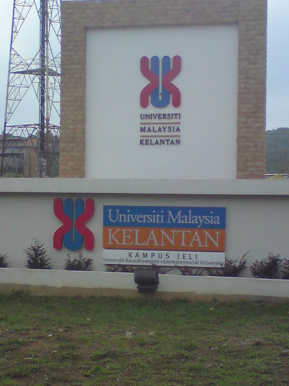 Hasil carian imej untuk Universiti Malaysia Kelantan Jeli
