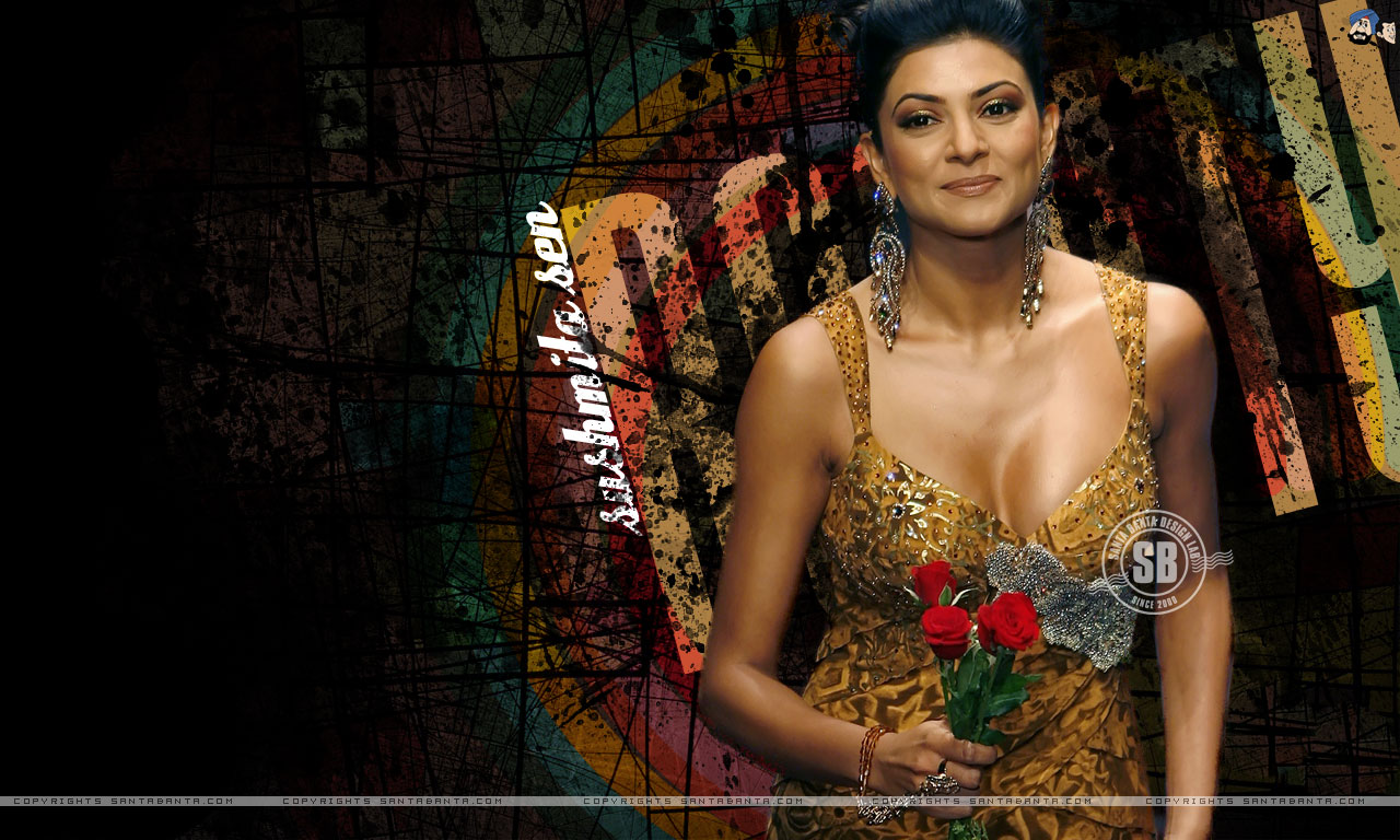 What Hot sushmita sen cleavage certainly