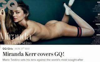 Miranda Kerr : la supermodel australienne pose GQ