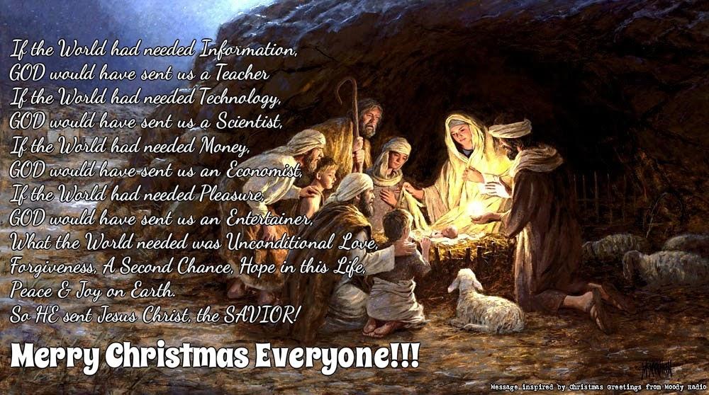 Praises & Prayers: A SAVIOR is Born! Merry Christmas Christ Is Born