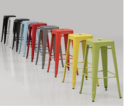 Tabouret stool in fun colors
