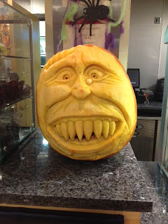 Pumpkins at Halloween by Chef at OGGSVenue