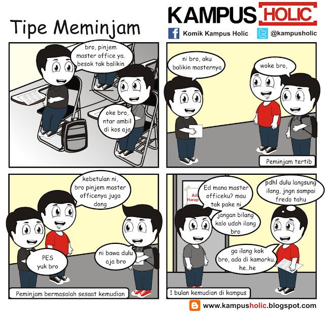 #133 Tipe Meminjam mahasiswa