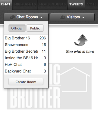 Big Brother 16 Live Feeds Chat Rooms