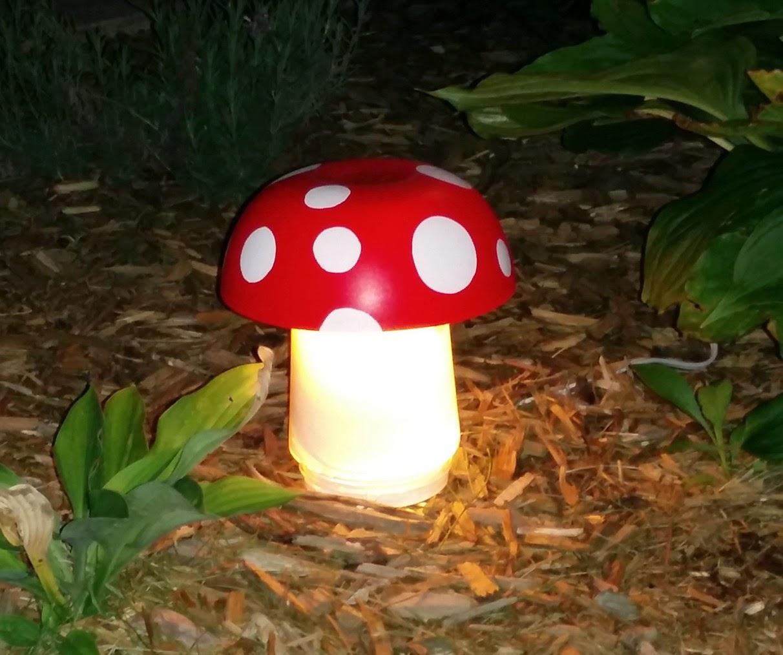 Своими руками фонарик для сада