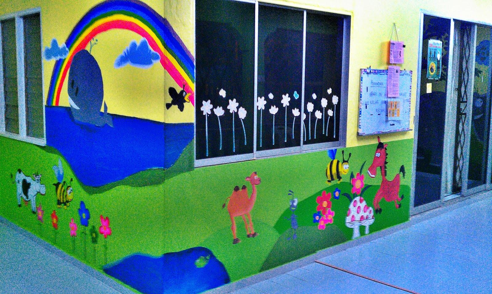 Mural pasti images for Contoh lukisan mural tadika