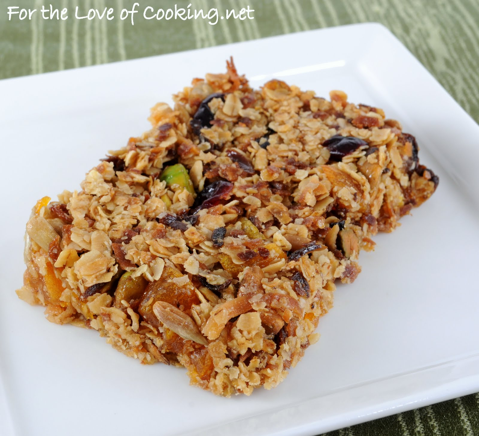 Sweet and Salty Homemade Granola Bars | For the Love of ...