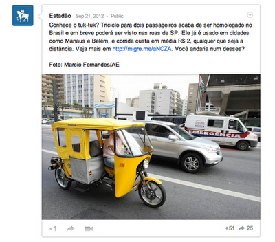 Screen+Shot+2012 10 26+at+9.39.53+AM Social Fridays: Using Google+, Brazilian news portal Estadão merges news with discussion