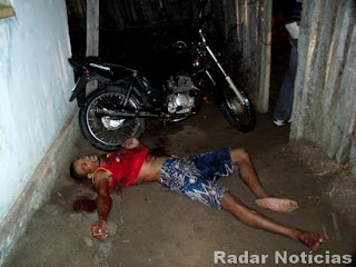 Gilvan Santos Gonçalves Dead in Alley