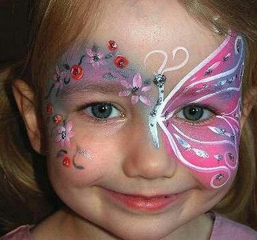 MuyAmenocom Maquillaje Infantil Y Caritas Pintadas