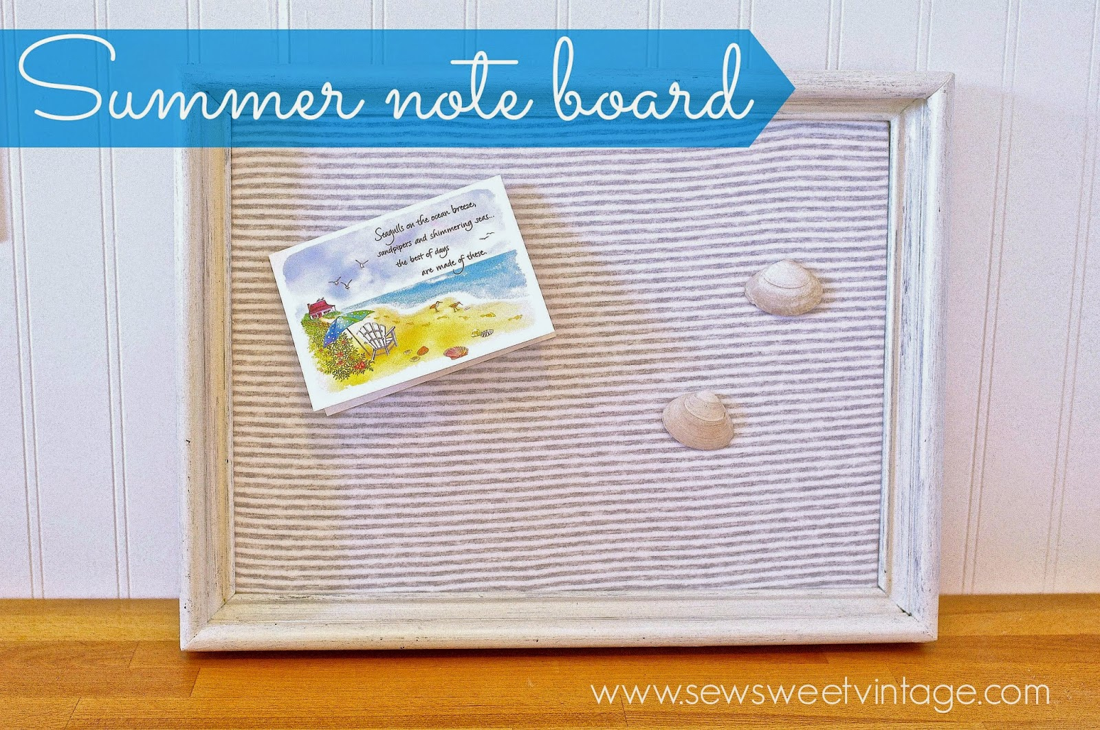how-to make a reversible burlap and fabric framed note board