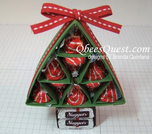 Qbee's Quest: Hershey's Christmas Tree Tutorial UPDATED