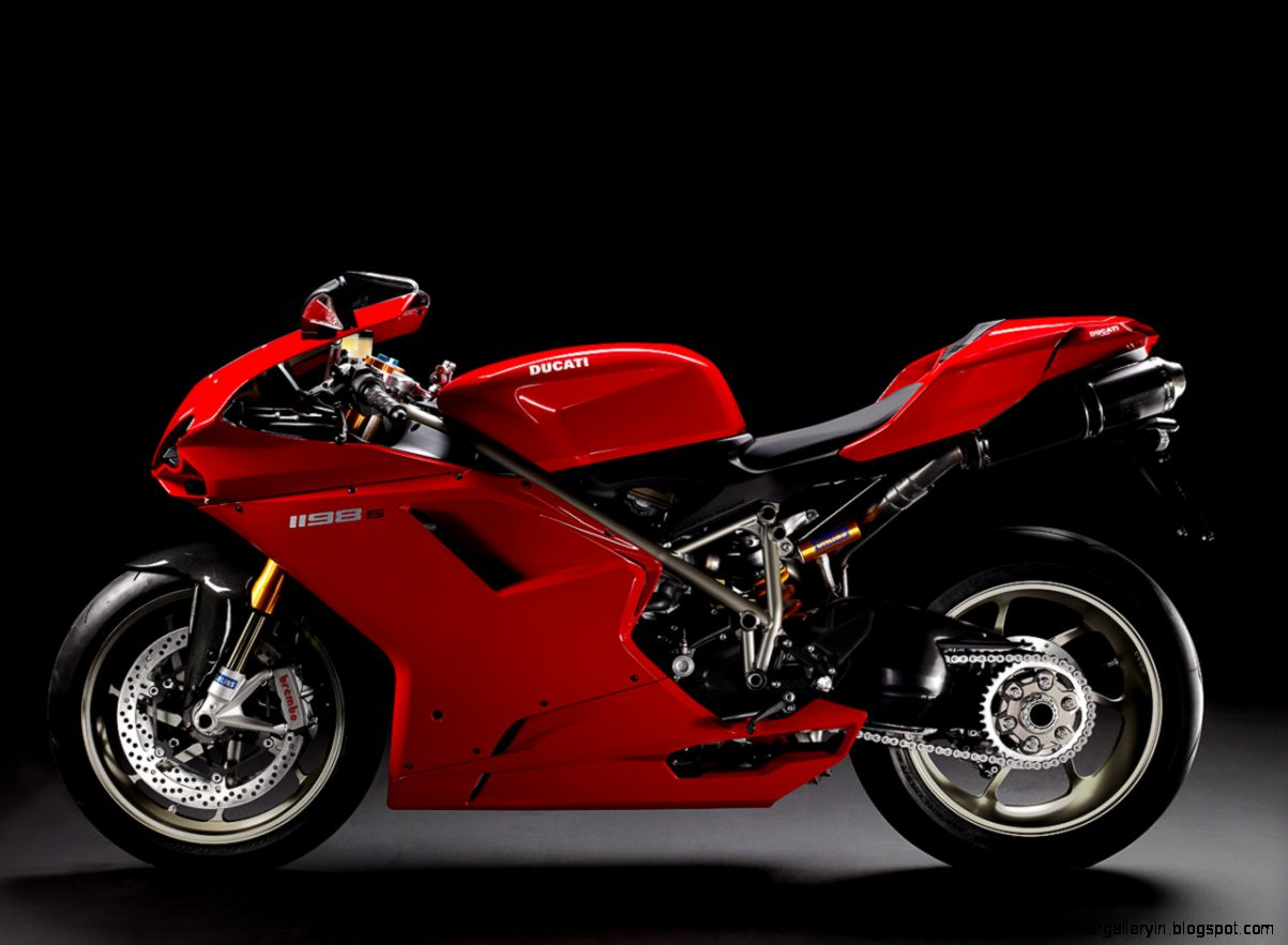 Download the Red Hot Ducati Left 1198S Wallpaper Red Hot Ducati