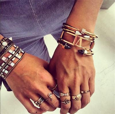 Bracelet tendance hiver 2017