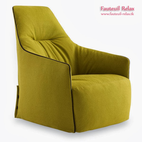 Fauteuil relax santa monica avec pouf fauteuil relax - Fauteuil relax interieur ...