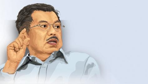 Bantah Anti-China, JK Serukan Masyarakat Indonesia Bersatu