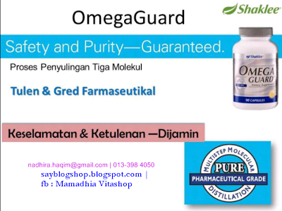 Asid lemak Omega-3, DHA, EPA, penyulingan, gred farmaseutikal