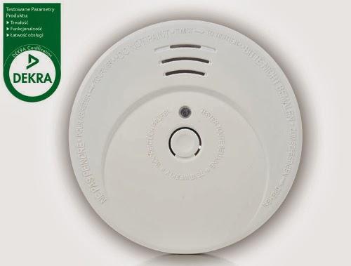 Fotoelektryczny czujnik dymu z Biedronki