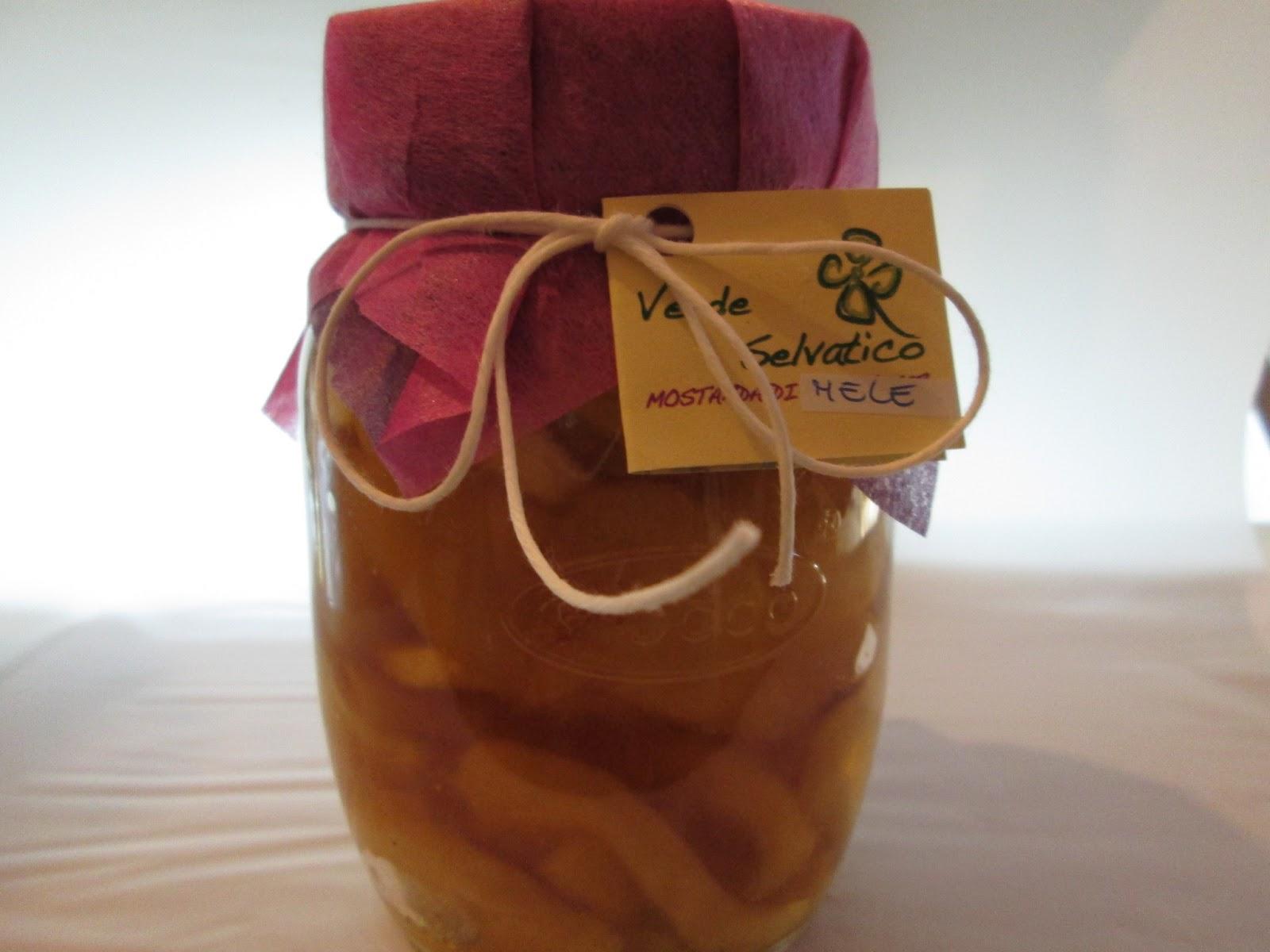 La boutique del latte mostarda mantovana di mele di verde for Mostarda di mele mantovana