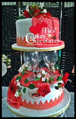 Wedding cake~fondant 3