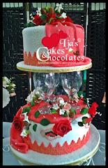 Wedding cake~fondant 3