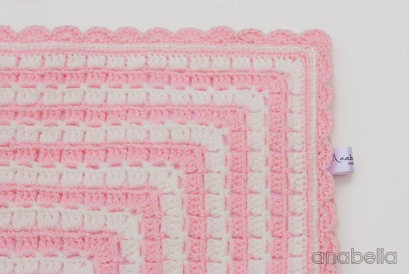 Bunny security crochet blanket by Anabelia