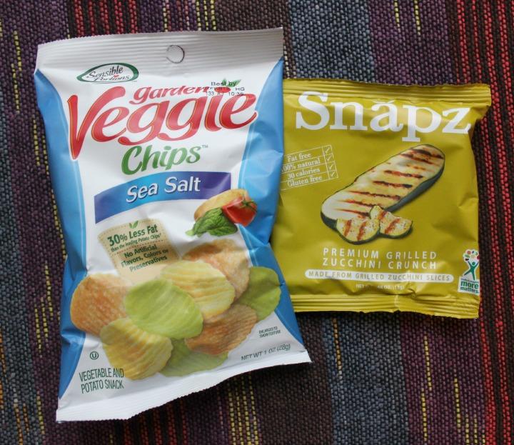 Sensible Portions Garden Veggie Chips - Sea Salt Snapz Premium Grilled Zucchini Crunch