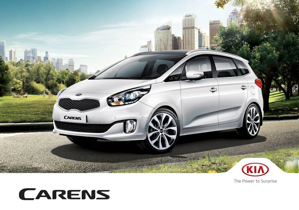 all new 2013 kia carens officially launched public debut. Black Bedroom Furniture Sets. Home Design Ideas
