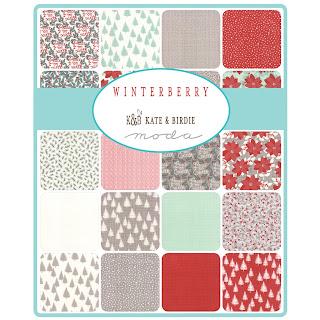 Moda WINTERBERRY Fabric by Kate & Birdie for Moda Fabrics