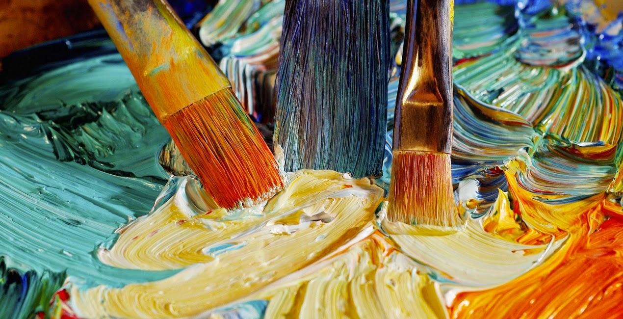 Pintura, pinceis, tinta, vanessa Vieira, arte, Pensamentos