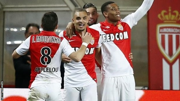 Highlights Monaco 1 – 1 Saint Etienne (Ligue 1)