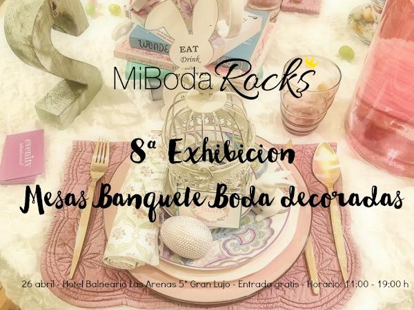 Exhibición Mesas de Banquete de Boda - Valencia