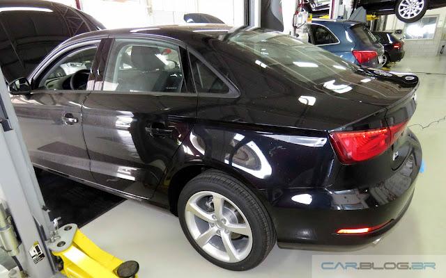 Audi A3 Sedan 1.4 Flex 2016 - preto
