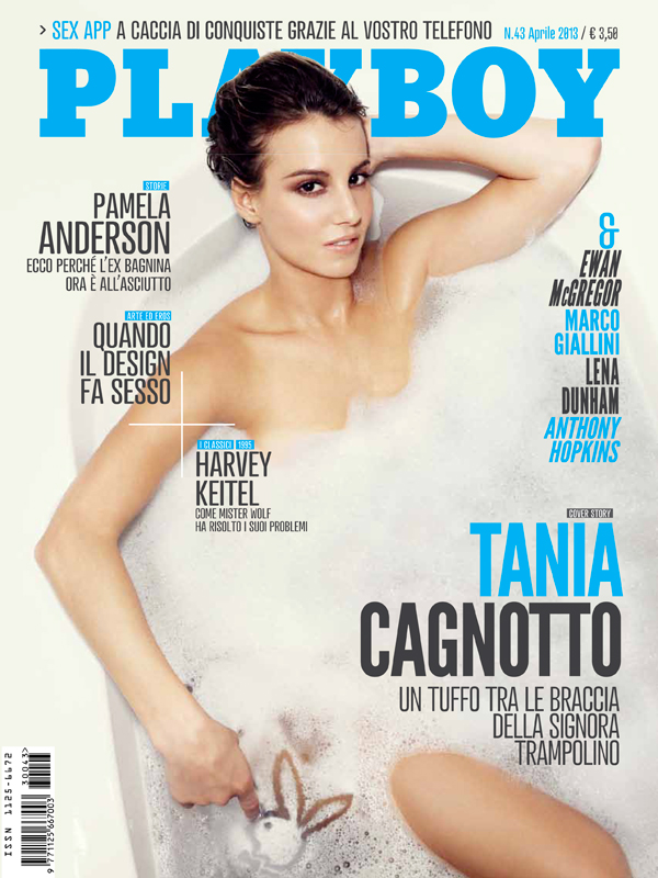 Tania Cagnotto, Sexy on Playboy
