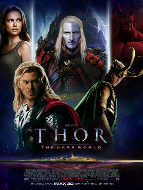 Thor 2 The Dark World Movie Poster