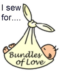 I sew for these charities
