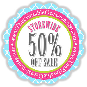 The Printable Occasion Winter Sale 50% Off