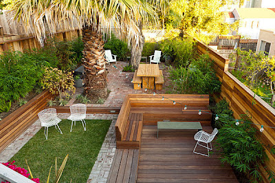 Como decorar patios peque os patios y jardines for Jardines de patios pequenos
