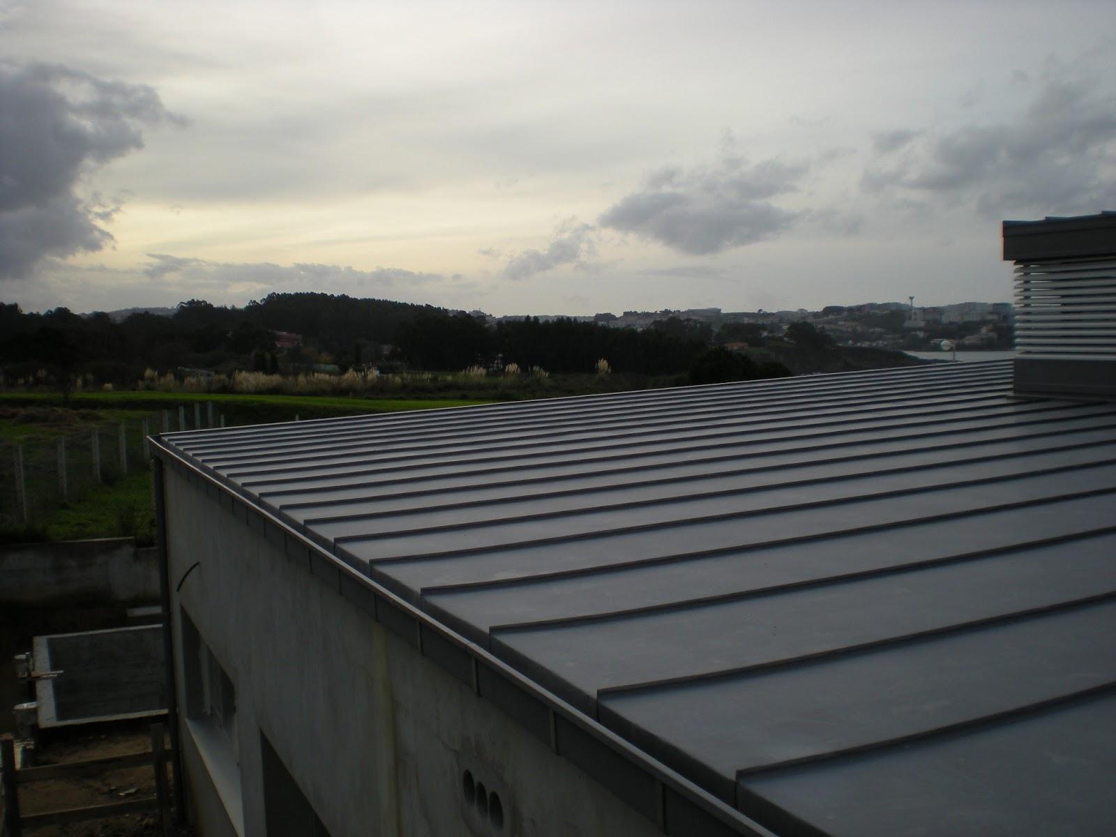 Cubiertas rendal tejado cubierta de zinc en la coru a - Cubiertas de tejados ...
